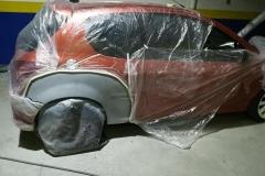 chapa y pintura Peugeot 206 - 3