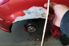 chapa y pintura Peugeot 206